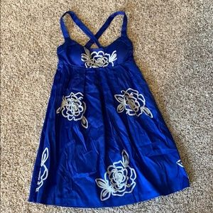 INC dress, royal blue